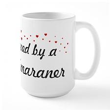 Loved By Weimaraner Mug