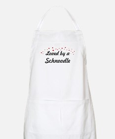 Loved By Schnoodle BBQ Apron