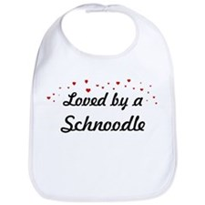 Loved By Schnoodle Bib