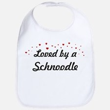 Loved By Schnoodle Bib