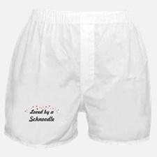 Loved By Schnoodle Boxer Shorts