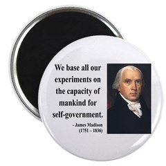 James Madison 15 Magnet
