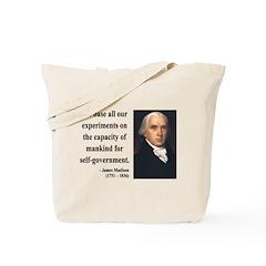 James Madison 15 Tote Bag