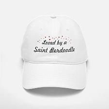Loved By Saint Berdoodle Baseball Baseball Cap