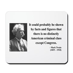 Mark Twain 16 Mousepad