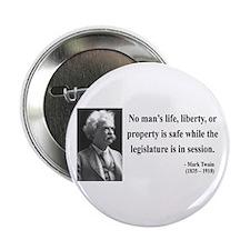 """Mark Twain 39 2.25"""" Button"""