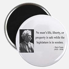 Mark Twain 39 Magnet