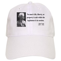 Mark Twain 39 Baseball Cap
