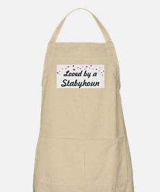 Loved By Stabyhoun BBQ Apron