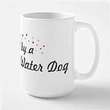 Loved By Portuguese Water Dog Large Mug