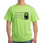 Nietzsche 4 Green T-Shirt