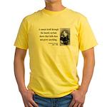 Nietzsche 4 Yellow T-Shirt