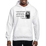 Nietzsche 4 Hooded Sweatshirt