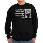 Nietzsche 4 Sweatshirt (dark)