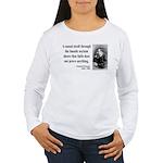 Nietzsche 4 Women's Long Sleeve T-Shirt