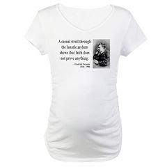 Nietzsche 4 Maternity T-Shirt