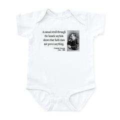 Nietzsche 4 Infant Bodysuit
