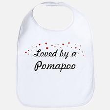 Loved By Pomapoo Bib