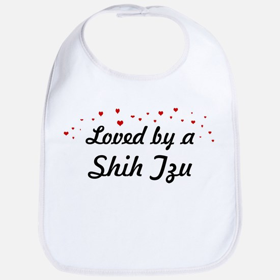 Loved By Shih Tzu Bib