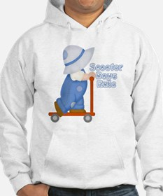 Little Scooter Boy Hoodie