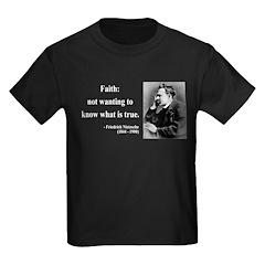 Nietzsche 10 Kids Dark T-Shirt