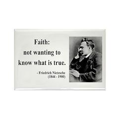 Nietzsche 10 Rectangle Magnet