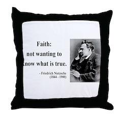 Nietzsche 10 Throw Pillow