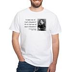 Nietzsche 11 White T-Shirt