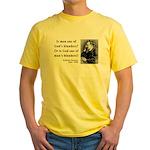 Nietzsche 11 Yellow T-Shirt