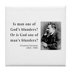 Nietzsche 11 Tile Coaster