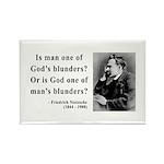 Nietzsche 11 Rectangle Magnet (100 pack)