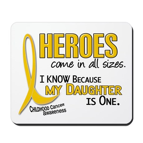 Heroes All Sizes 1 (Daughter) Mousepad