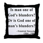 Nietzsche 11 Throw Pillow