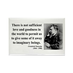 Nietzsche 28 Rectangle Magnet (100 pack)