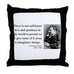 Nietzsche 28 Throw Pillow