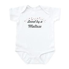 Loved By Maltese Infant Bodysuit