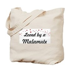 Loved By Malamute Tote Bag