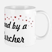 Loved By Lurcher Mug