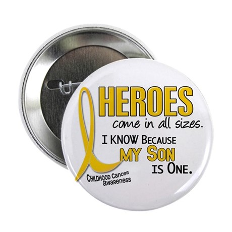 """Heroes All Sizes 1 (Son) 2.25"""" Button"""