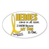 Childhood cancer Bumper Stickers