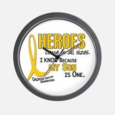 Heroes All Sizes 1 (Son) Wall Clock