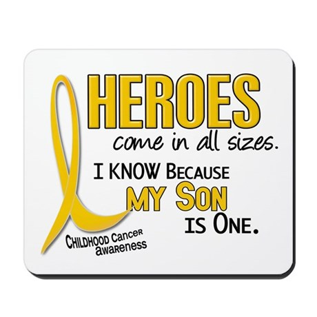 Heroes All Sizes 1 (Son) Mousepad