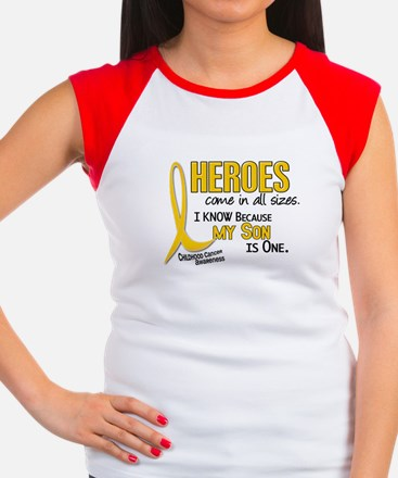 Heroes All Sizes 1 (Son) Women's Cap Sleeve T-Shir
