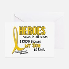 Heroes All Sizes 1 (Son) Greeting Cards (Pk of 10)