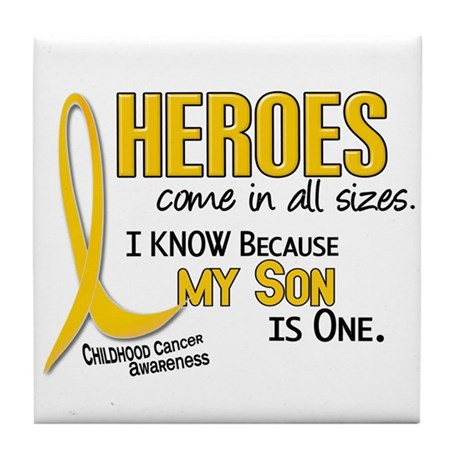 Heroes All Sizes 1 (Son) Tile Coaster