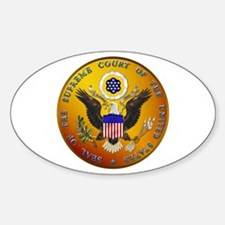 US Supreme Court Oval Decal