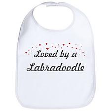 Loved By Labradoodle Bib