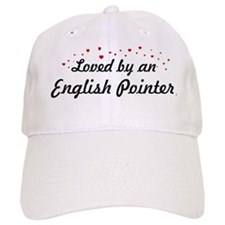 Loved By English Pointer Baseball Cap