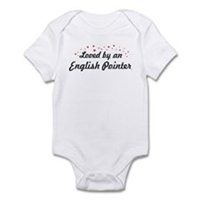 Loved By English Pointer Infant Bodysuit