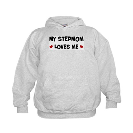 Stepmom loves me Kids Hoodie